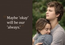 the fault in our stars, the fault in our stars quotes, quotes from the fault in our stars, hollywood, hollywood cinema