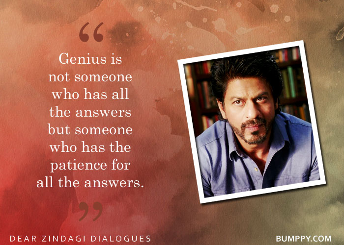 5. 8 Heartwarming Dialogues From 'Dear Zindagi' To Enable You To love  Yourself and Your Zindagi