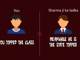sharma ji ka beta, sharma ji ka ladka, indian jokes, funny indian jokes, indian parents funny, funny desi parents, desi parents and exams,