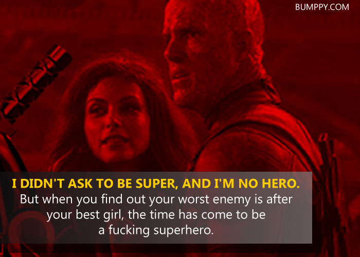 14 15 Epic Quotes By Deadpool That Prove He Is The Most Badass And
