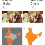 funny meme on ghar se niklte hi song