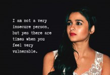 family, success, lonely life, insecure, vulnerability, Alia Bhatt, interview, actors, fail, bollywood, support, vulnerable,