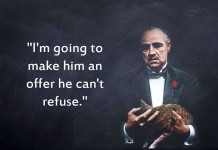 marlon brando, the godfather, don vito corleone, movie, quotes, birthday,