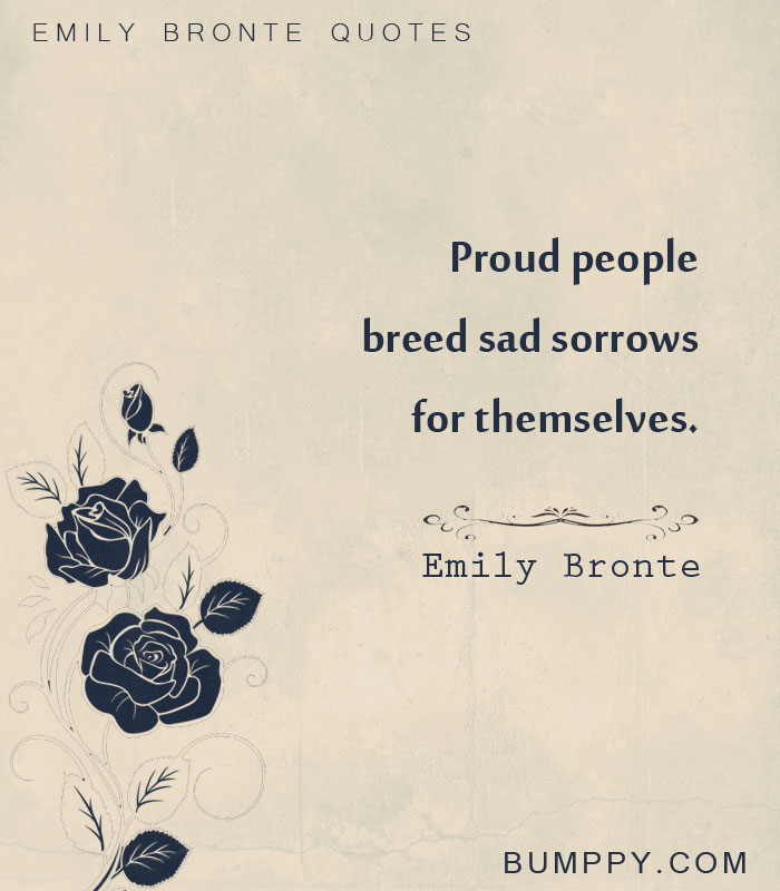 Emily Bronte Quotes | 20 Quotes By Emily Bronte About Love Romance And Revenge That You