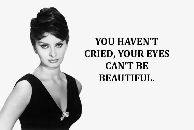 10 Quotes By Sophia Loren To Make You Feel Confident | Bumppy