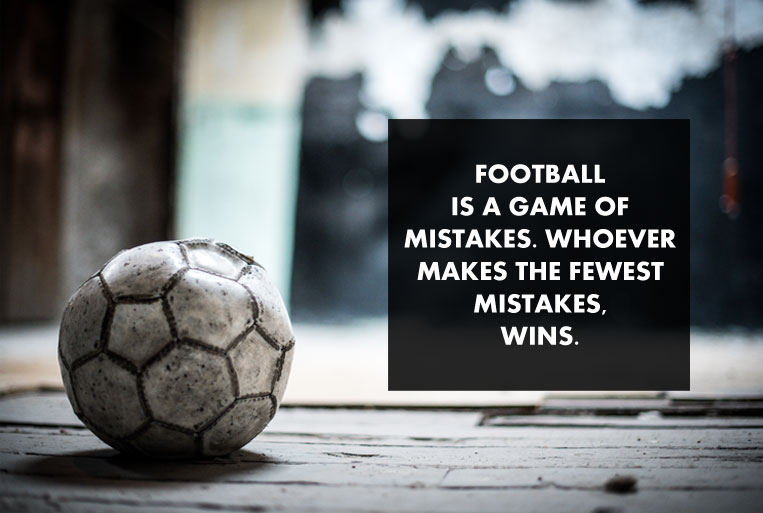 Inspirational Football Quotes | 9 Football Motivational Quotes That Will Motivate You Bumppy