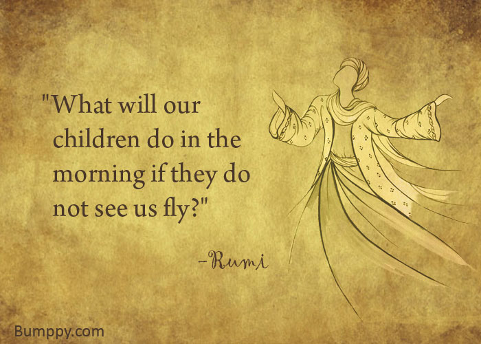 """What will our    children do in the    morning if they do    not see us fly?"""