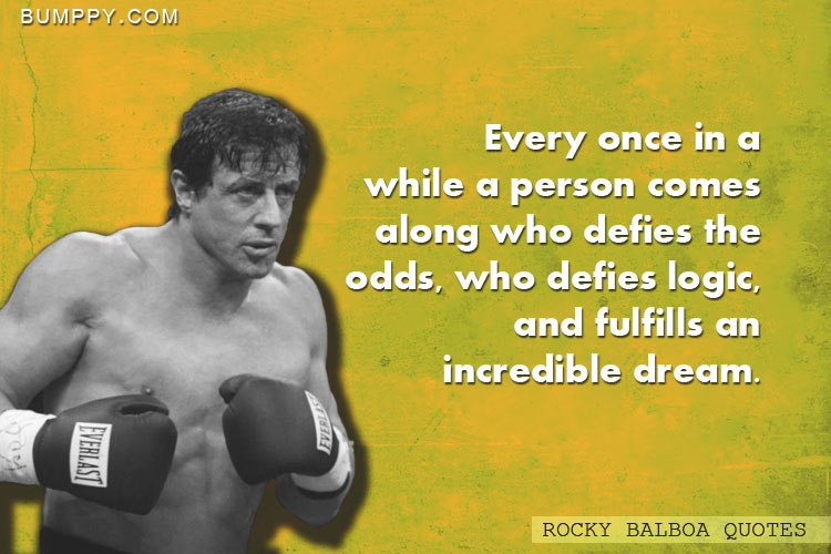 Every once in a while a person comes along who defies the odds, who defies logic, and fulfills an incredible dream.